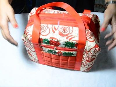 २ दिन के सफर के  लिए बनाये  छोटा बैग . HOW TO MAKE MINI TRAVEL BAG