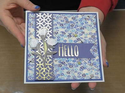 #264 No Heat Foiling with Stampendous, Couture Creations & Prima Kits by Scrapbooking Made Simple
