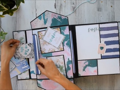 Chunky 2 in 1 Album | Santorini - Prima Marketing Wedding Album