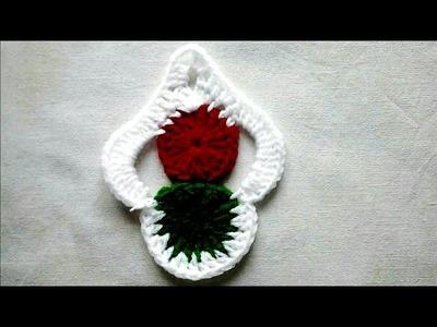 Crosia ke design, woolen Diy idea, Crochet, #21,by||Santosh All Art||