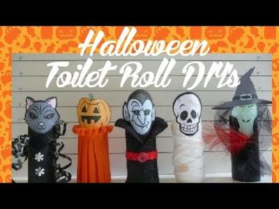 DIY|How to make Halloween  Art & Craft Theme using Empty Toilet Rolls Hacks