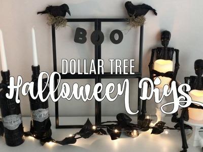 DOLLAR TREE HALLOWEEN DIYs | THREE EASY IDEAS