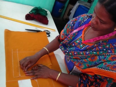 EASSY Blouse Cutting In Tamil | ஜாக்கெட்~ ப்ளவுஸ் ~ வெட்டும் முறை ~Simple Designer Blouse Cutting ,