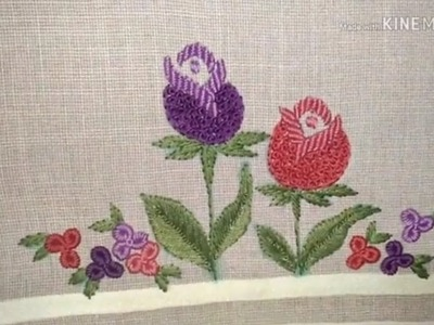 Hand Embroidery Desing : By EASY LEARNING BY ATIB