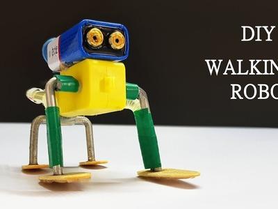 How to make Cute Walking Robot - simple DIY Robot