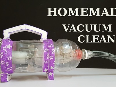 How to make Powerful Vacuum Cleaner at home