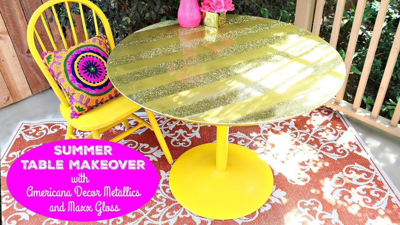 HOW TO: Summer Table Makeover