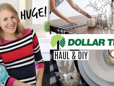HUGE *NEW* DOLLAR TREE HAUL! ???? DIY Farmhouse Decor, Organization, Christmas & More!