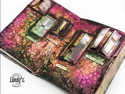 """Mixed Media Art Journal """"Doors"""" by Yulianna Efremova"""