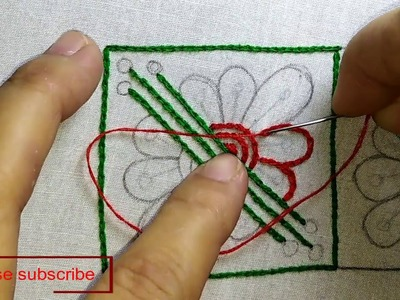 Nakshi kantha design stitch-25, how to stitch nakshi kantha,নকশী কাঁথা সেলাই, नक्षी कंध सिलाई