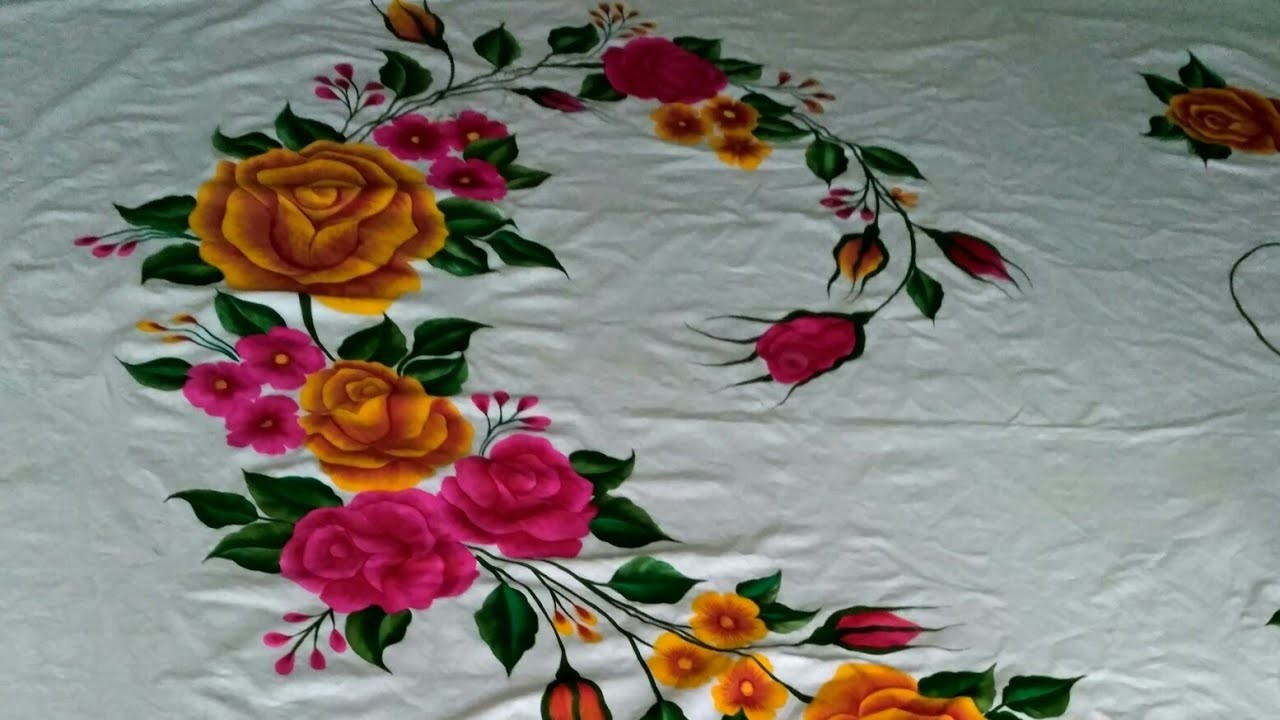 New Bed Sheet Design Complete Design Saleha Painting