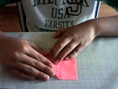 Origami Pig Tutorial