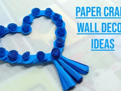 Paper Craft Wall Decor Ideas | DIY Decoration Idea with Paper
