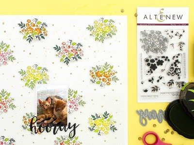 Pattern Building with Ditsy Print Stamp Set