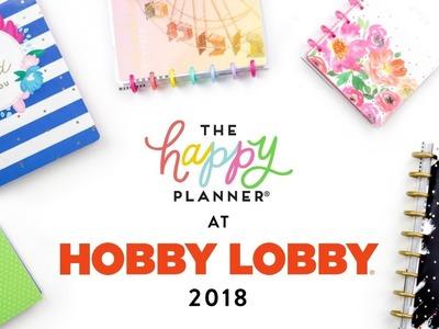 REVEAL WEEK!. HOBBY LOBBY 12-Month Happy Planners!