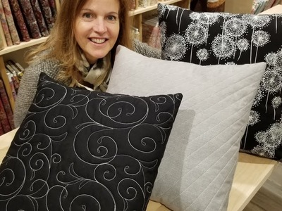 Sometimes less is more? 1 Yard, 1 Pillow, 1 Beautiful Project!