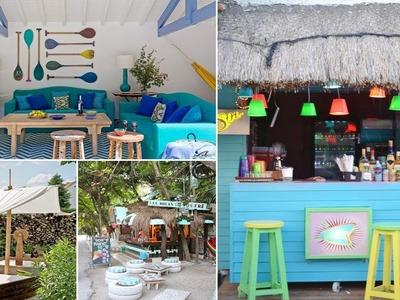 120 Ideas for Relaxing Beach Outdoor Decor | Outdoor Garden