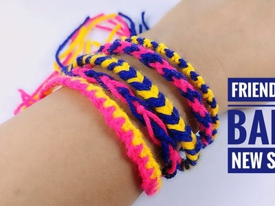 5 Amazing Friendship Bracelet using Thread Wool | Make New Style of Friendship Band Patterns