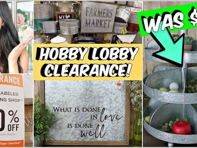 80% OFF CLEARANCE HOBBY LOBBY COME WITH ME.HAUL