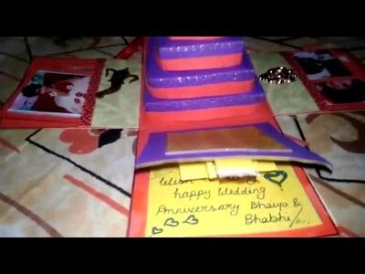 Anniversary card for BhaiyA bhabhi