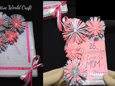 Beautiful design handmade greeting card ideas for teachers day, birthday, diwali greeting card,