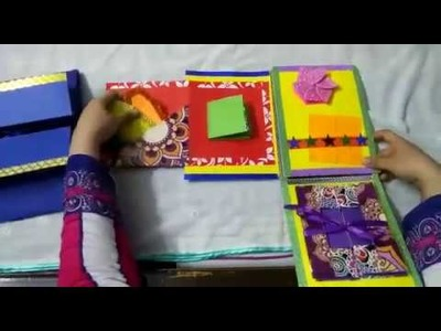 Beautiful multilayered greeting cards for diwali, birthday, deepavali, teachers day and friends 003
