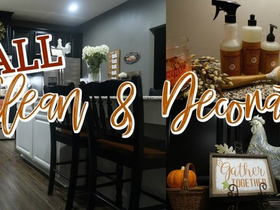 CLEAN & DECORATE FOR FALL WITH ME | Cook Clean And Repeat 2018