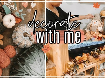 DECORATE WITH ME FOR FALL 2018 | HOW TO DECORATE FOR FALL #FallFridaysWithPage | Page Danielle