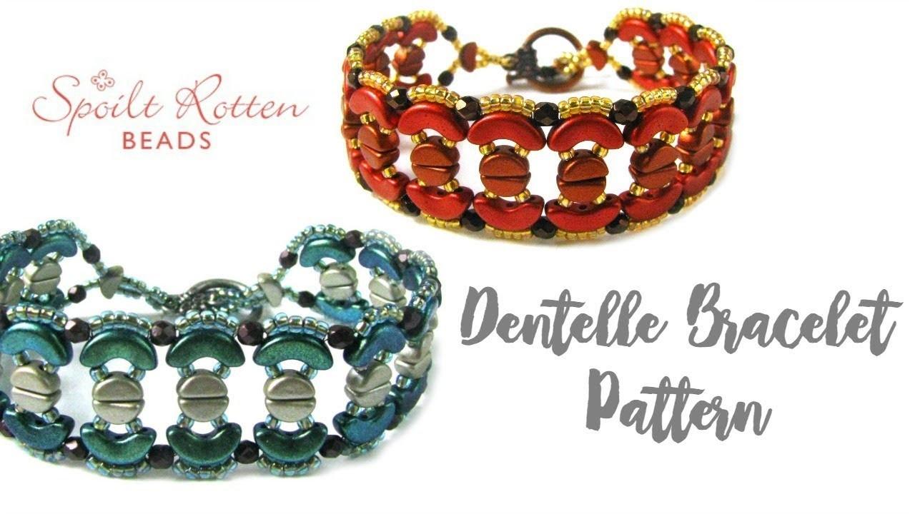 Dentelle Bracelet Tutorial - Les Perles Par Puca