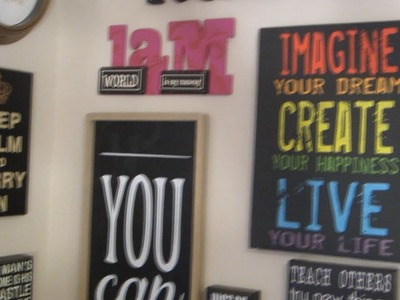 DIY: Create Your Own Motivational Wall!