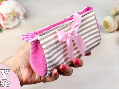 DIY CUTE PURSE BAG. Awesome Woman Zipper Bag Tutorial