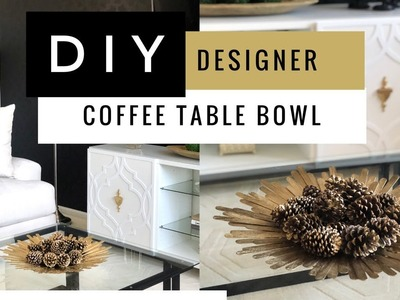 DIY Decorative Bowl Using Dollar Tree Supplies | Easy | Home Decor Accents