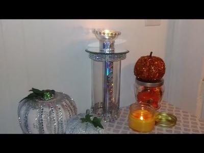 DIY. Glam.Dollar Tree.Burlington Inspired.Tea Light.Solar Light. Holder