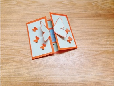 DIY Happy birthday card making with paper craft.