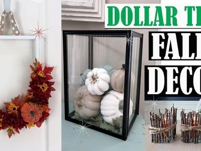 DOLLAR TREE FALL DIY DECOR 2018