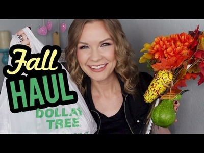 Dollar Tree Haul!! Fall Decorations!!   LipglossLeslie