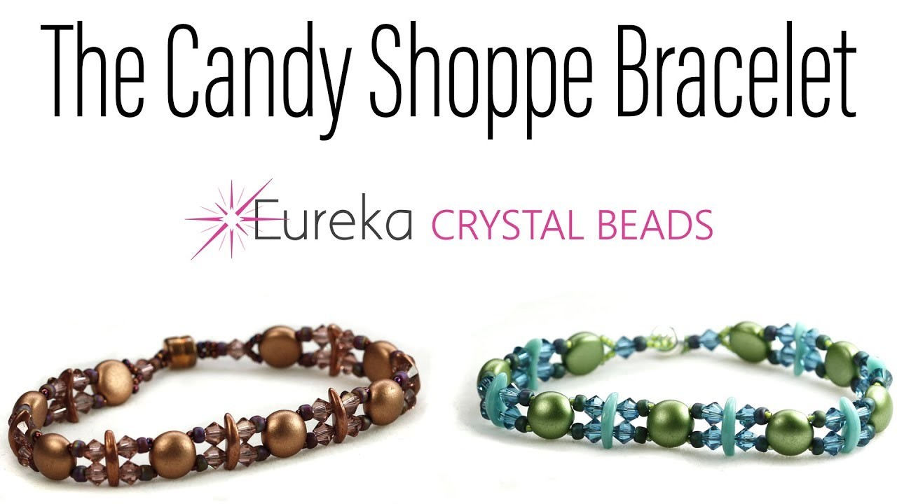 Easy Candy Shoppe Bracelet with Czech and Swarovski!