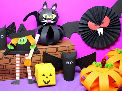 Easy Halloween Crafts for Kids | Halloween Craft Ideas