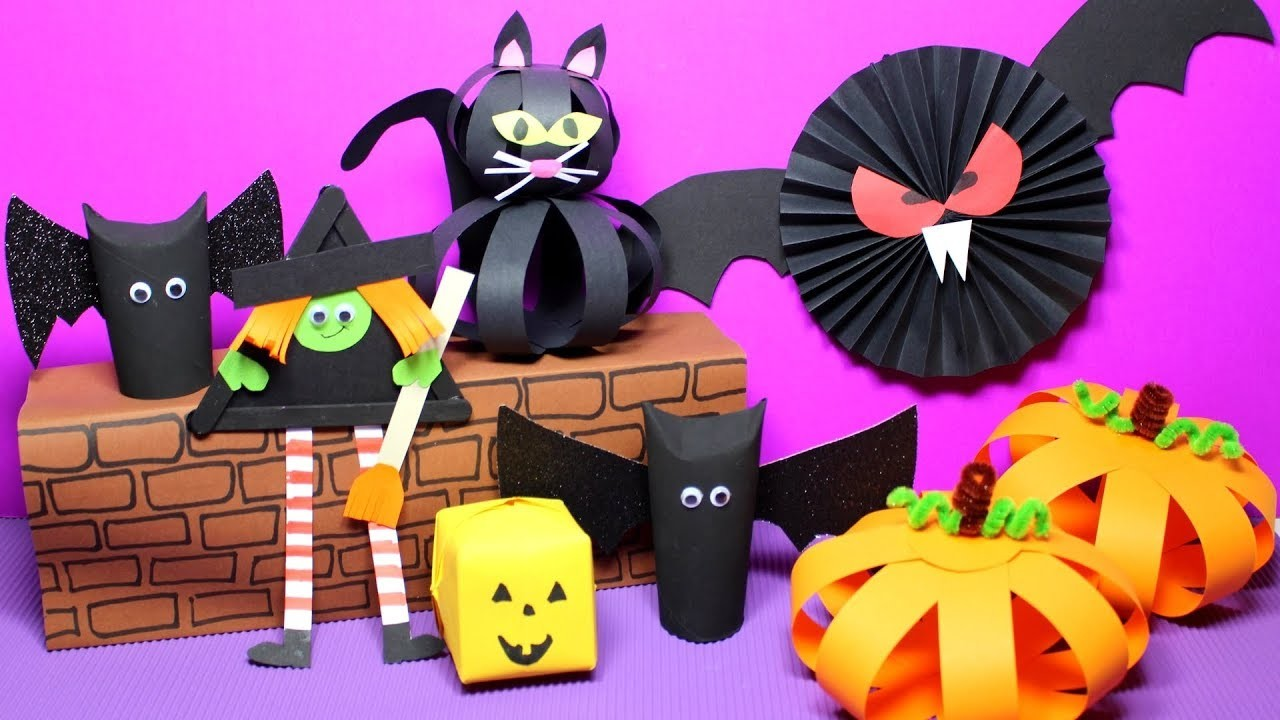 Easy Halloween Crafts for Kids | Halloween Craft Ideas