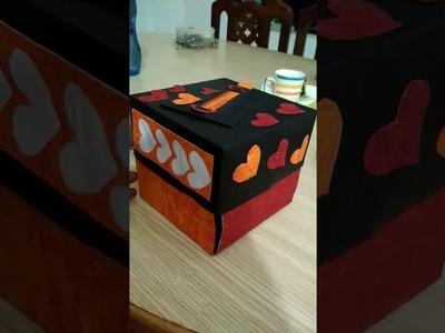 Explosion box for teachers day????