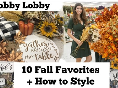 FALL HOBBY LOBBY FAVORITES + How to Style the Decor | Momma From Scratch