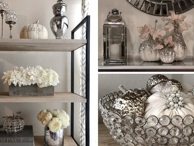 GLAM FALL DECORATING IDEAS || DECORATE WITH ME FOR FALL 2018