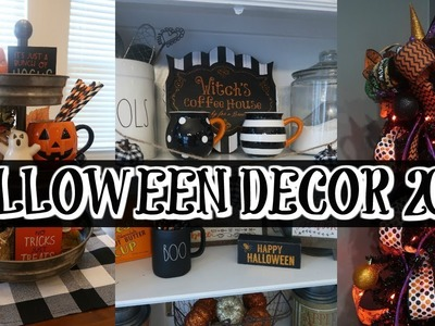 HALLOWEEN HOME TOUR  2018 |  ???????????? FUN & SPOOKY DECOR |Cook Clean And Repeat