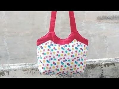 Handmade Bag ll Market bag ll Shopping bag ll lunch bag ll tiffin bag by ShreeBhgwati