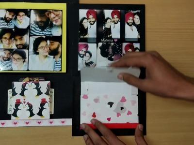 Handmade birthday card for my girlfriend on her 21st birthday????❤