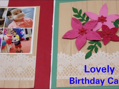 Handmade Birthday card for husband.wife,DIY Greeting Cards for Birthday,Birthday gift ideas