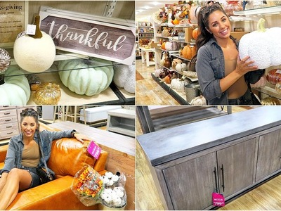 HOME GOODS SHOP WITH ME & HAUL! FALL HOME DECOR 2018!