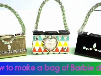 How To Make a Miniature bag of Barbie Dolls