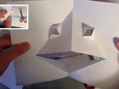 How to make a pop-up creature THAT BLINKS