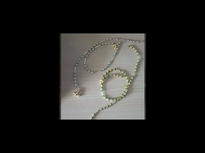 How to make crystal anklet